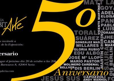 171020 5aniversario - INVITACION