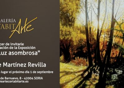 170901 A Esa luz Asombrosa - Vicente Martínez Revilla