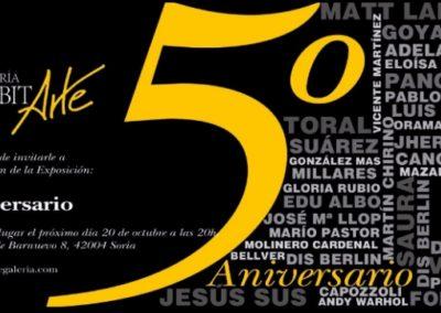 5º Aniversario