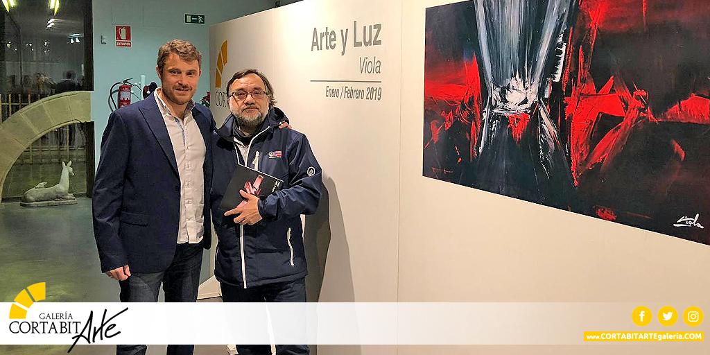 EXPOSICIONES   Arte y Luz · Viola   inauguración