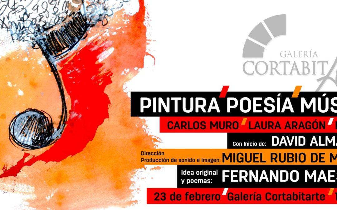 PINTURA, POESIA, MUSICA | invitación