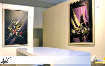 EXPOSICIONES | Arte y Luz · Viola | Caos · Desintegración