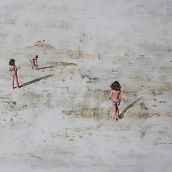 En la Playa Berta Solana