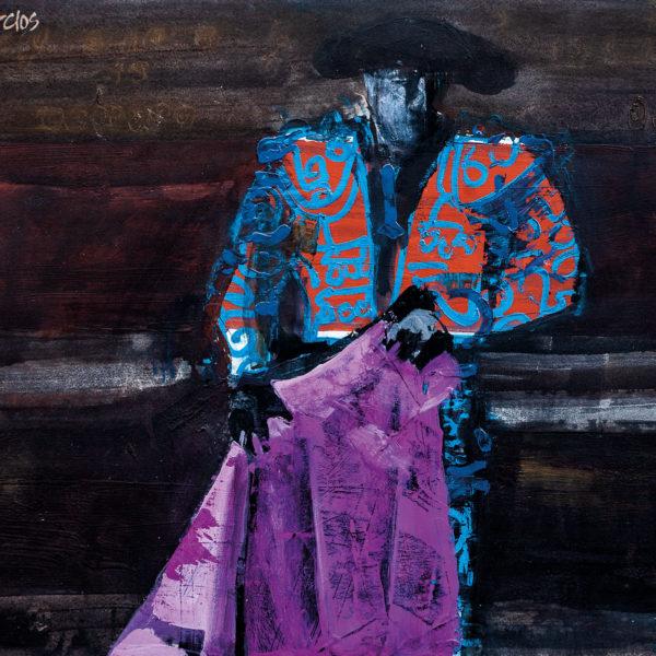Torero azul Vaquero Turcios