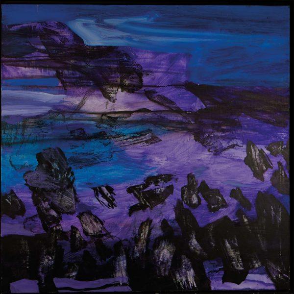 Sueño azul y violeta II