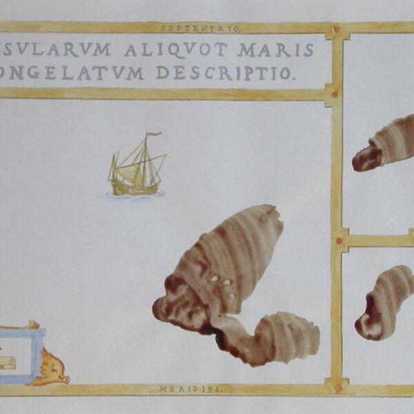 Insularum Aliquot Maris Congelatum Descriptio