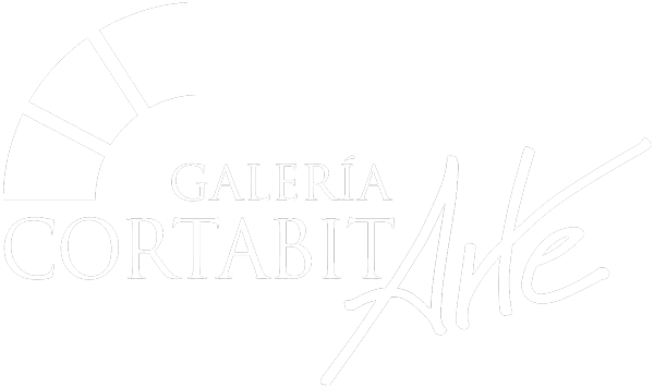 Logo Galería Cortabitarte Blanco